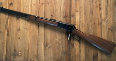 Winchester 1892 - Reblued and new stock and forearm