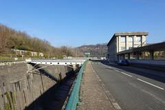 Évacuateur superficiel rive droite @ Barrage de Génissiat