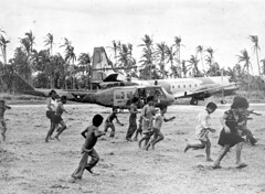 Iroquois Helicopter in Sāmoa