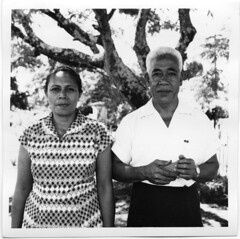 Mrs and Mr Ioane Okasene, Apia