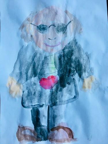 Oliver, aged 5
