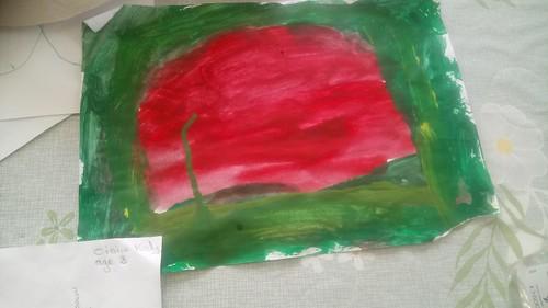 Oisin, aged 3