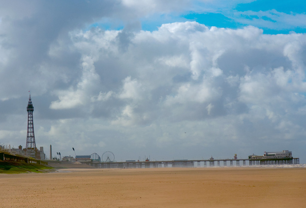 Beach Walking Blackpool North