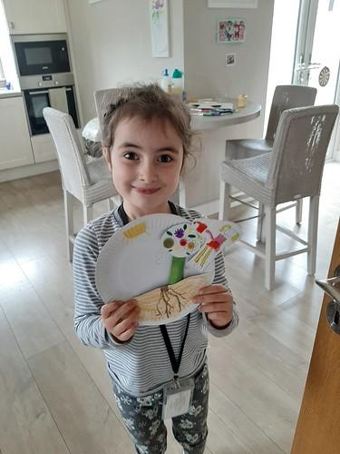 Anna Mai, aged 6