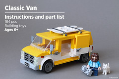 Classic Van | Instructions and part list