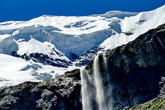 Ice-melt in the Swiss Alps