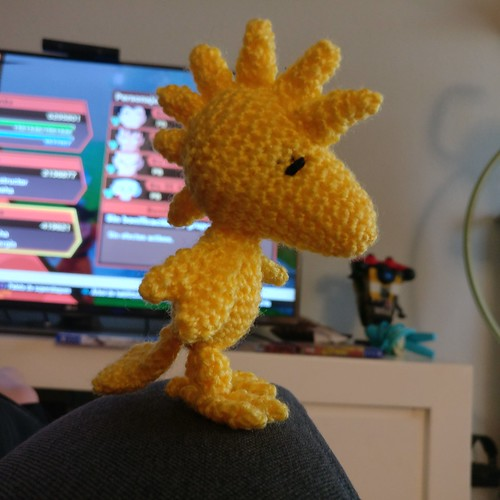Amigurumi Woodstock Crochet Free Patterns | Free crochet pattern ... | 500x500
