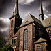 an der Kirche ...