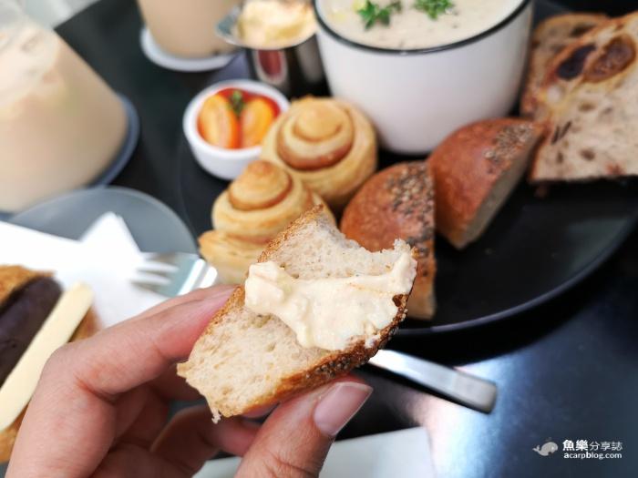 【台北大安】Moon Baking studio|月亮家超好吃排隊麵包|紅豆圓法 濃湯野餐盤 @魚樂分享誌