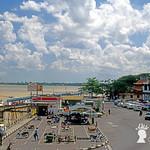 Porto di Kuching, Sarawak, Malesia