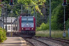 CFL 4005, BR 186 Bombardier TRAXX - Bahnhof Kautenbach - L 🇱🇺