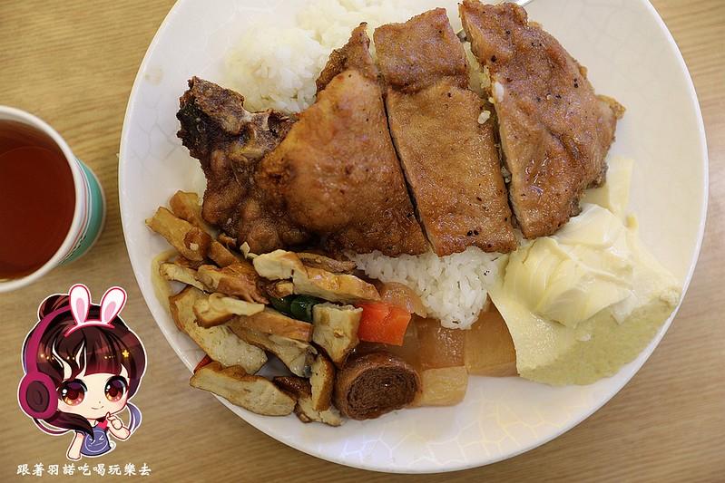 168快餐排骨飯滷肉飯和平東路麟光站美食09