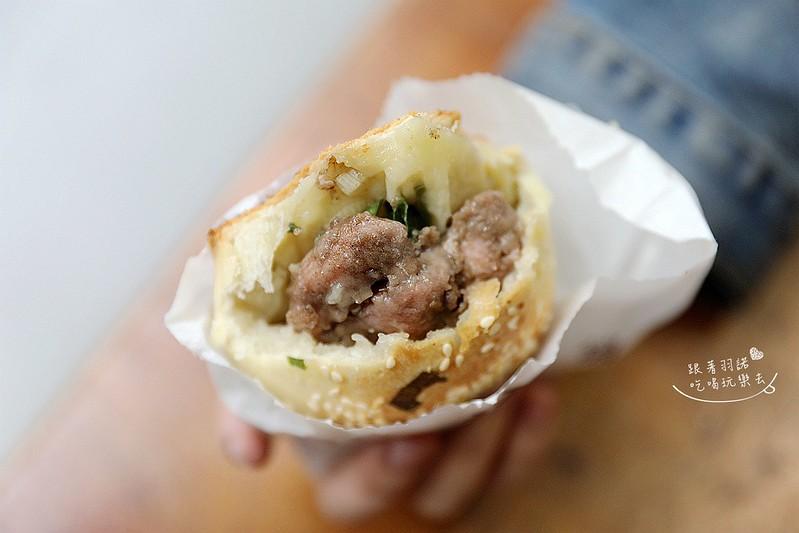 福元胡椒餅在地人大推一出爐就掃光華陰街厚餅皮全赤肉胡椒餅08