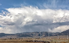 April 21, 2020 - Storms over the foothills. (Debbi Kibler Bruggeman)