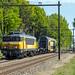 NS 1745 met een DD-AR rijtuig vertrekt uit Amersfoort naar Blerick, 24 april 2020