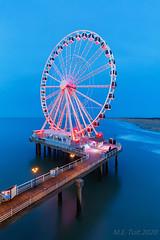 Ferris wheel @ The North sea