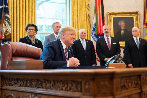 President Trump Signs the Paycheck Prote by The White House, on Flickr