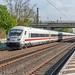 Geen IC maar ICE 1043 Düsseldorf-Berlin Ostbahnhof Metropolitan Garnitur