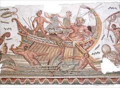 Dionysos châtiant les pirates (Musée du Bardo, Tunis)