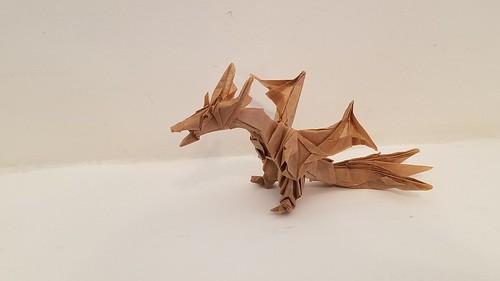 Kade Chan Origami Blog 香港摺紙工作室 (日誌): Fiery Dragon ... | 281x500