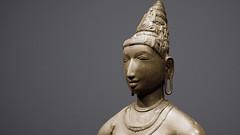 Queen Sembiyan Mahadevi as the Goddess Parvati (detail)