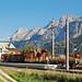 Lermoos - Kleinbahnhof-Impressionen (4) - Technik und Berg