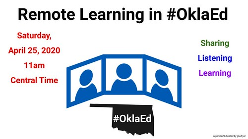 Remote Learning in #OklaEd by Wesley Fryer, on Flickr