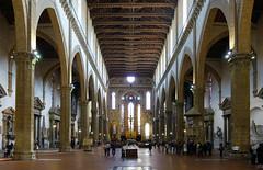 Arnolfo di Cambio (?), Santa Croce nave
