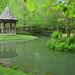 Gibbs Gardens pond & gazebo - this weekend