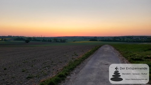 Morgenrot im Osten - SunriseRun Dalheim/Friesenheim