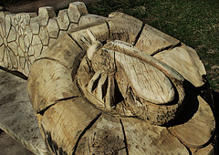 Photo of Park Bench Carving