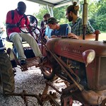 Senegal and Ivory Coast - NC farm tractor