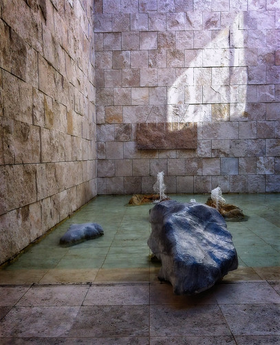 Fountains and rocks