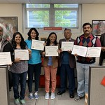 India Cochran - fellows receive their diplomas