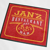 Janz restaurant - printed printed floor mats in Pembrokeshire