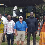 Ghana Cochran - fellows on a farm visit