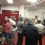 Pakistan Cochran Fellows visiting NC State's creamery