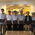 China SCEP - fellows with diplomas