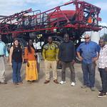 Ghana Cochran - farm visit