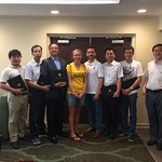 China Cochran Fellows with their certificates