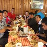 China Cochran Fellows enjoying southern style food