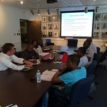 Kenya and South Africa Cochran fellows learning about international trade