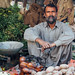 Vegetable Vendor with Cigarette, Islamabad Pakistan