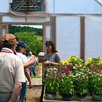 Moldova Cochran Fellows exploring local greenhouses
