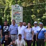 Moldova Cochran Fellows visiting Lewis Nursery and Farms