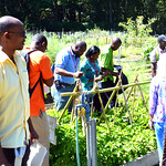 Exploring farming equipment