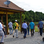 Tour of an agritourism farm in North Carolina