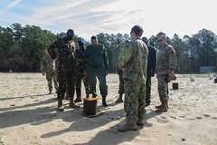 AFRICOM and African Partner Forces Visit EOD Training Unit