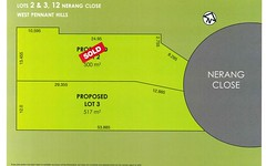 Lot 2, 12 Nerang Close, West Pennant Hills NSW