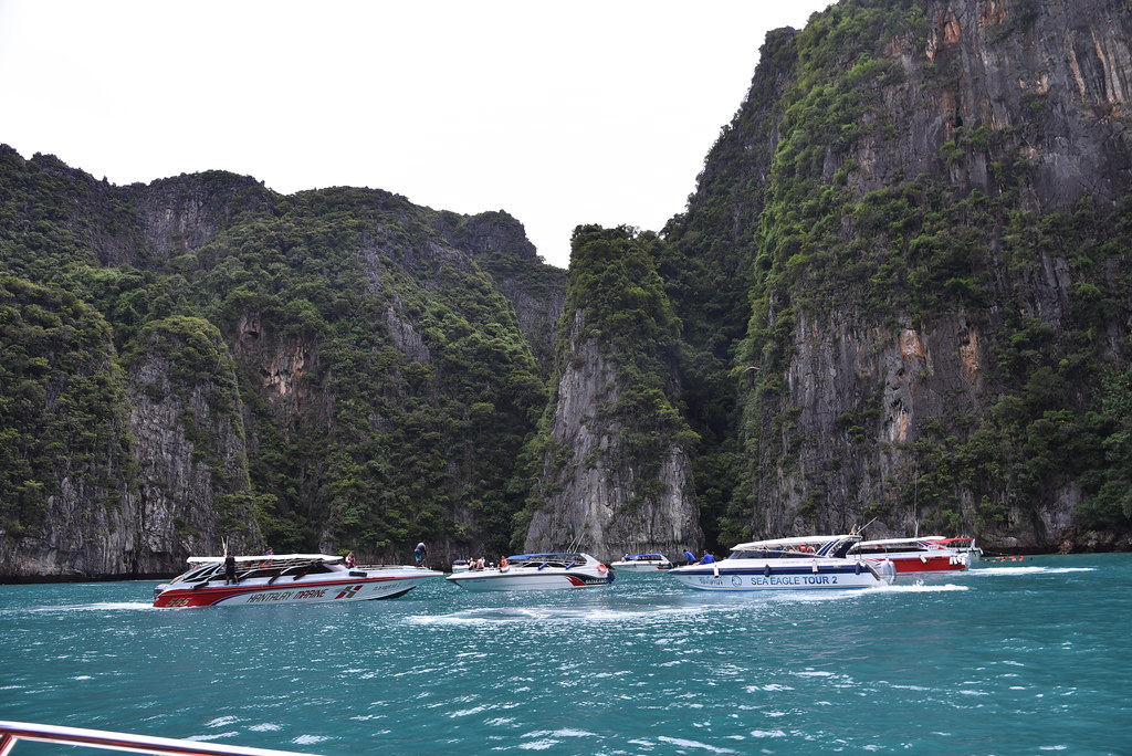 Maya Bay is closed off due to over tourism